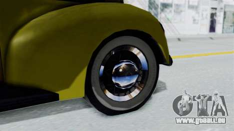 Ford V-8 De Luxe Station Wagon 1937 Mafia2 v2 für GTA San Andreas zurück linke Ansicht
