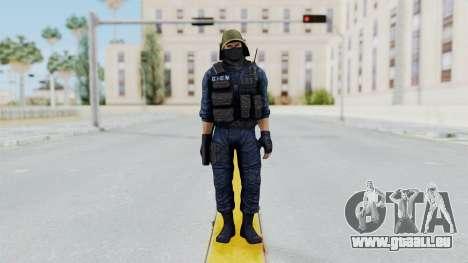 GIGN 2 Masked from CSO2 pour GTA San Andreas deuxième écran