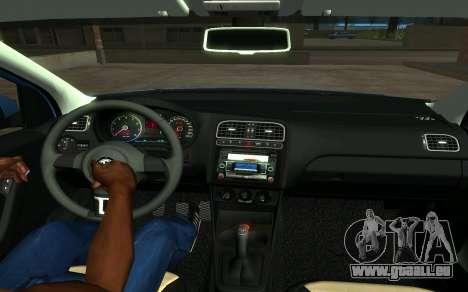Volkswagen Polo für GTA San Andreas zurück linke Ansicht