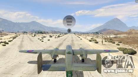 GTA 5 B-25 fünfter Screenshot