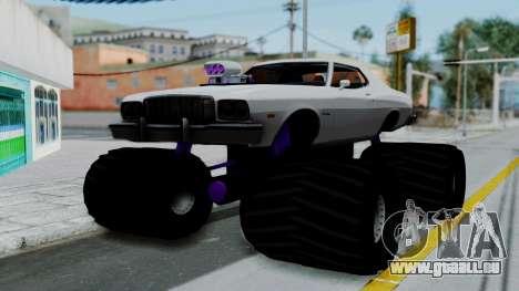 Ford Gran Torino Monster Truck für GTA San Andreas