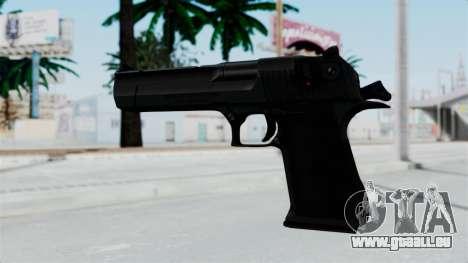 Pouxs Desert Eagle v2 Black pour GTA San Andreas deuxième écran