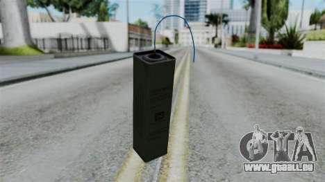 No More Room in Hell - TNT pour GTA San Andreas deuxième écran