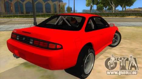Nissan Silvia S14 Drag pour GTA San Andreas vue de droite
