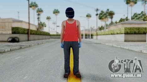 Biker from Hotline Miami pour GTA San Andreas deuxième écran
