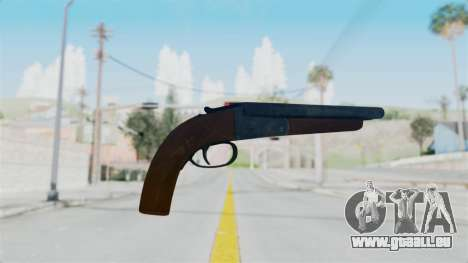 Double Barrel Shotgun from Lowriders CC pour GTA San Andreas deuxième écran