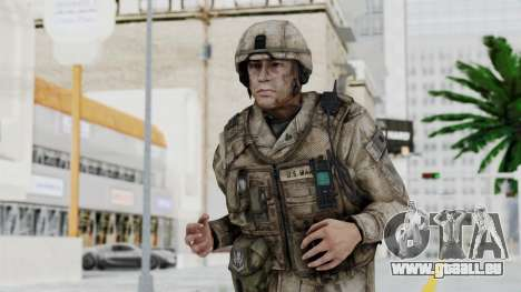 Crysis 2 US Soldier 4 Bodygroup A pour GTA San Andreas