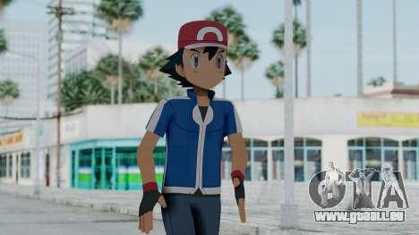 Pokémon XY Series - Ash für GTA San Andreas