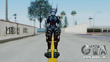 Kingdom Hearts BBS - Ventus Armored v2 für GTA San Andreas dritten Screenshot