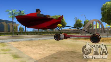 StarWars Anakin Podracer für GTA San Andreas rechten Ansicht