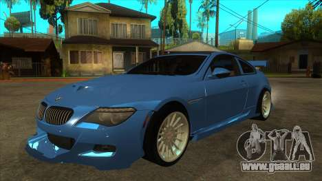 BMW M6 Full Tuning für GTA San Andreas