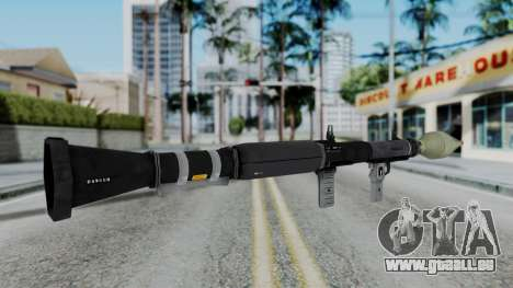 GTA 5 RPG - Misterix 4 Weapons für GTA San Andreas dritten Screenshot