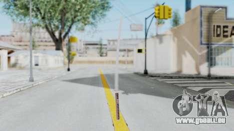 Samurai Sword für GTA San Andreas zweiten Screenshot