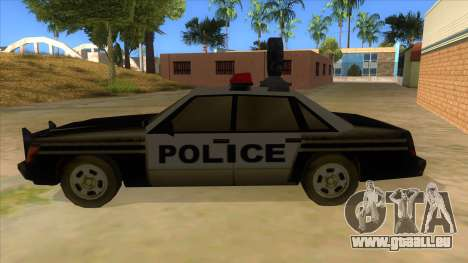 Police Car from Manhunt 2 für GTA San Andreas linke Ansicht