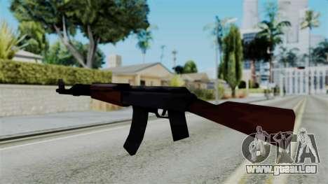 GTA 3 AK-47 für GTA San Andreas zweiten Screenshot