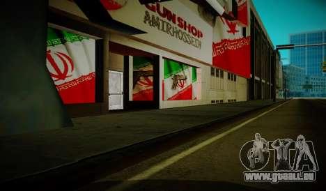 Iranian ammunation pour GTA San Andreas deuxième écran