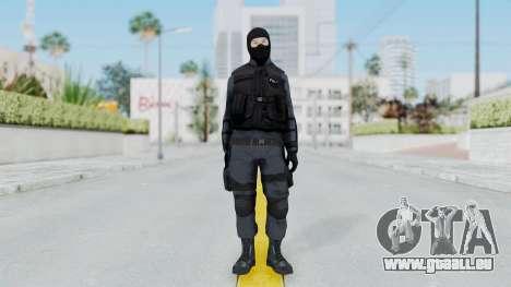 GTA 5 S.W.A.T. Police pour GTA San Andreas deuxième écran