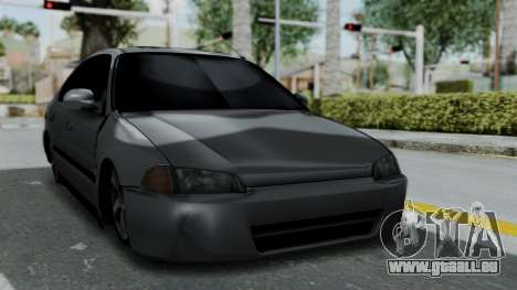 Honda Civic 1992 Sedan pour GTA San Andreas