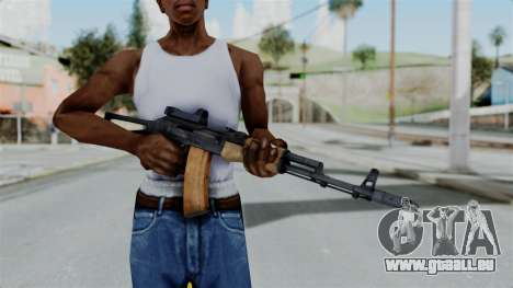 Arma2 AKS-74 Cobra für GTA San Andreas dritten Screenshot