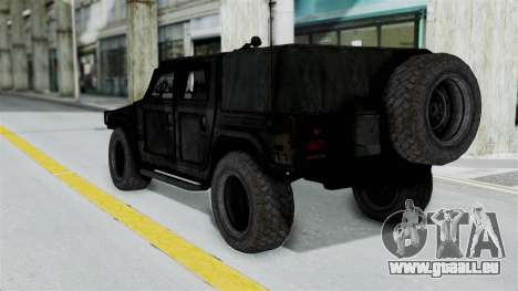 HMLTV-998 BULDOG from Crysis 2 pour GTA San Andreas vue de droite