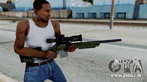 No More Room in Hell - JAE-700 pour GTA San Andreas troisième écran