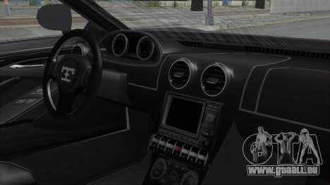 GTA 5 Truffade Adder v2 SA Lights pour GTA San Andreas vue arrière