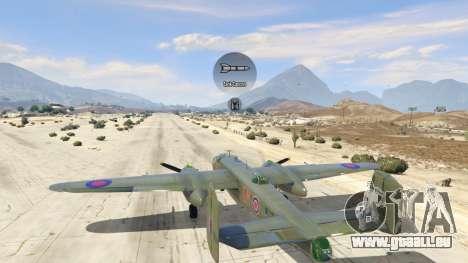 GTA 5 B-25 septième capture d'écran