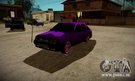 IZH 2126 L'APD pour GTA San Andreas