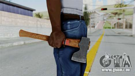 GTA 5 Hatchet - Misterix 4 Weapons für GTA San Andreas dritten Screenshot