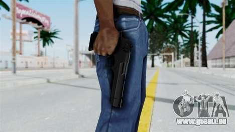 Pouxs Desert Eagle v2 Black pour GTA San Andreas troisième écran