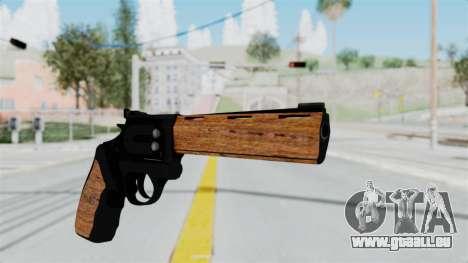 Wood Revolver für GTA San Andreas zweiten Screenshot