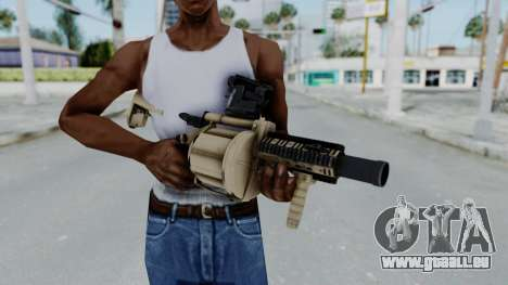 Arma OA Grenade Launcher für GTA San Andreas dritten Screenshot