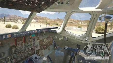 GTA 5 McDonnell Douglas DC-9-15 cinquième capture d'écran