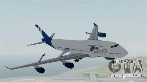 GTA 5 Jumbo Jet v1.0 Air Herler pour GTA San Andreas sur la vue arrière gauche