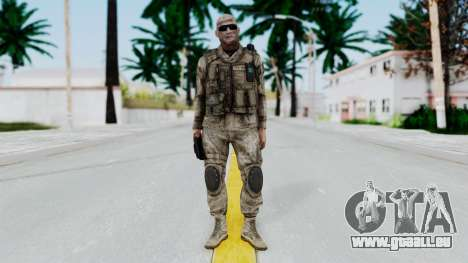 Crysis 2 US Soldier FaceB Bodygroup A pour GTA San Andreas deuxième écran