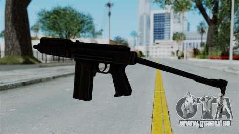 9A-91 Ironsight pour GTA San Andreas troisième écran