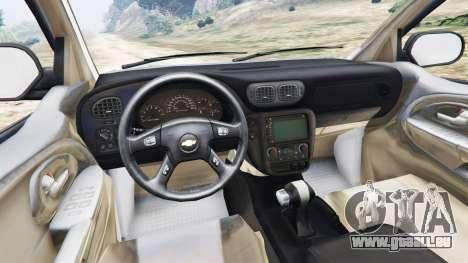 GTA 5 Chevrolet TrailBlazer hinten rechts