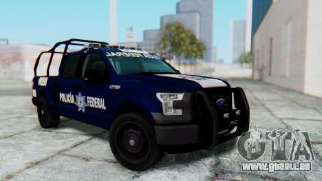 Ford F-150 2015 Policia Federal pour GTA San Andreas
