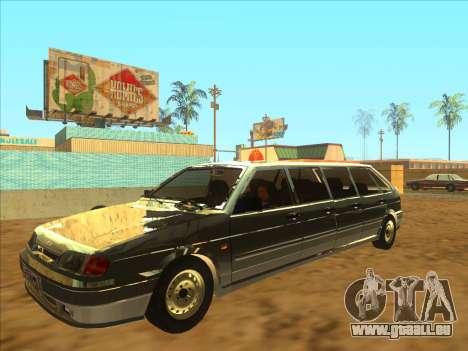 VAZ 2114 9-door pour GTA San Andreas