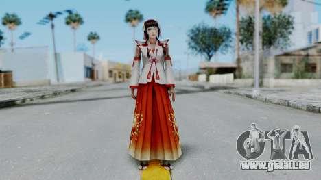 Sengoku Musou 3 - Okuni für GTA San Andreas zweiten Screenshot
