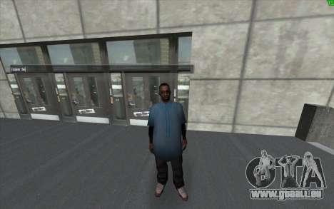 Un changement de visuel de la peau pour GTA San Andreas deuxième écran