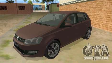 Volkswagen Polo 6R 1.4 pour GTA San Andreas