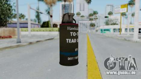 GTA 5 Tear Gas pour GTA San Andreas
