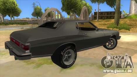 Ford Gran Torino Drag pour GTA San Andreas vue de droite