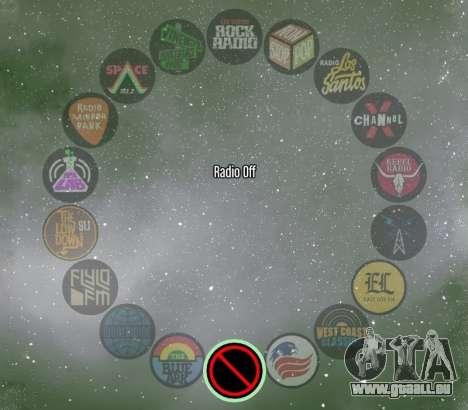 Colored Radio Wheel v1.1 für GTA 5