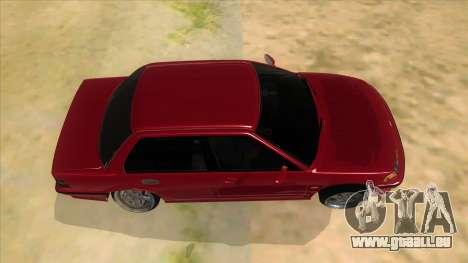 Honda Civic Ef Sedan pour GTA San Andreas vue intérieure