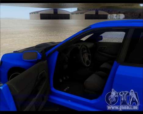 Subaru Impreza für GTA San Andreas rechten Ansicht