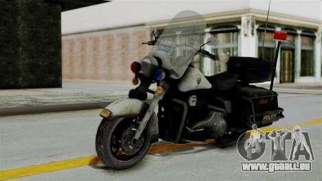 Police Bike from RE ORC für GTA San Andreas