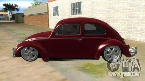 Volkswagen Beetle Aircooled V2 für GTA San Andreas linke Ansicht