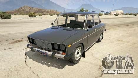 VAZ 2106 für GTA 5